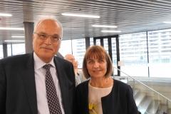 Sylvie Briand, OMS et Prof. Bernardino Fantini