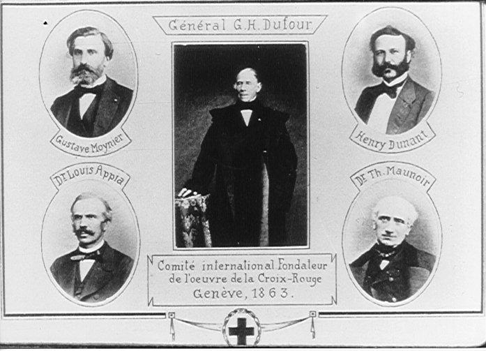 150e de la naissance du CICR à l'instigation de la SGUP