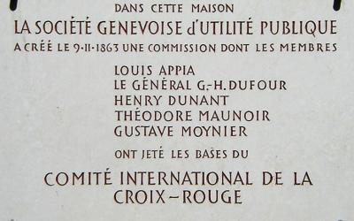 150e de l'action humanitaire à Genève